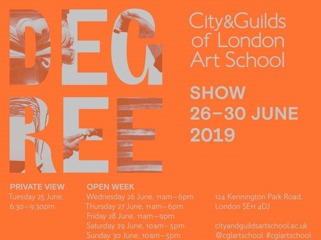 city and guilds degree show