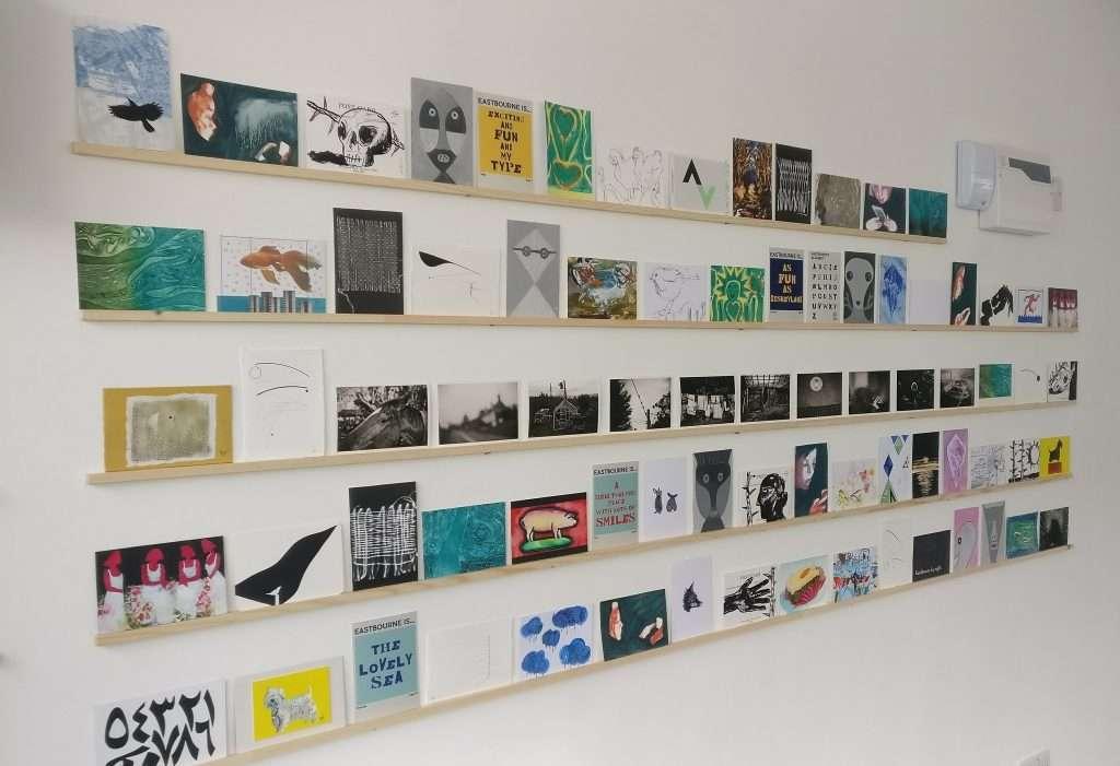 dc1 postcard exhibition eastbourne